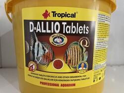 Tropical - Tropical D-Allio Plus Sarımsaklı Tablet Yem 4500 Ad. Kova