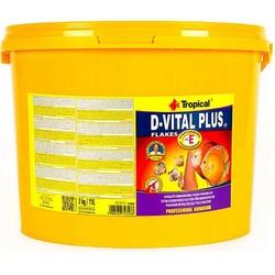 Tropical - Tropical D-Vital Plus Discus Flake 11 Lt/2000 Gr.