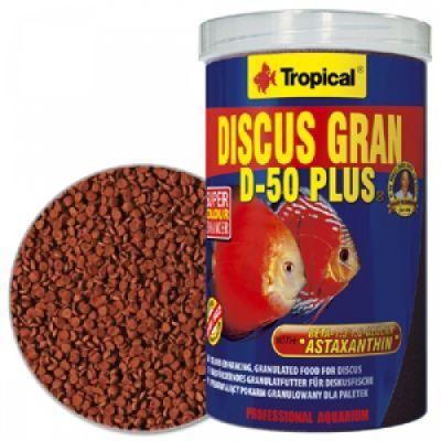 Tropical Discus Gran D-50 Plus 500 Gram