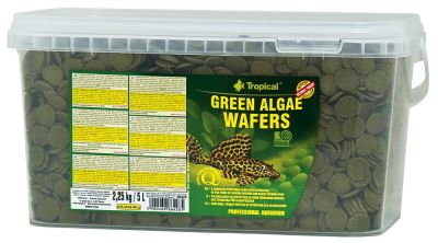Tropical Green Algae Wafers 5 Lt / 2250 Gr.