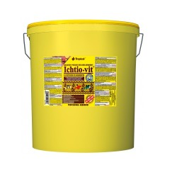 Tropical - Tropical Ichtio-Vit Karışık Pul Yem 21 Lt / 4000 Gram
