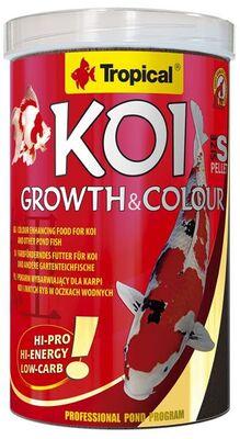 Tropical Koi Growth Colour Pellet Size S 1000 ML / 320 Gram