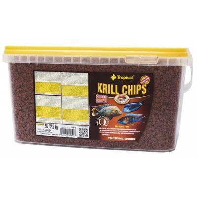 Tropical Krill Chips 5 Lt / 2500 Gram