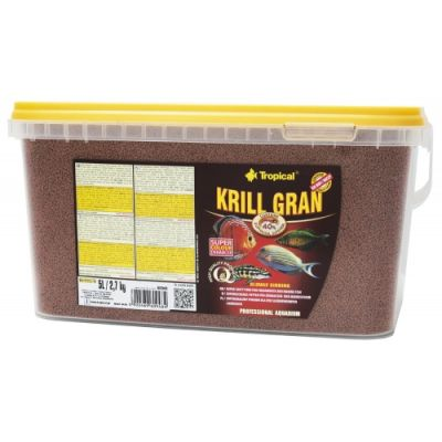 Tropical Krill Gran 5 Lt / 2700 Gram