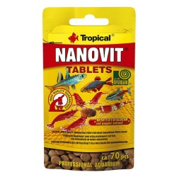 Tropical - Tropical Nanovit Tablets 10 Gram 70 Adet