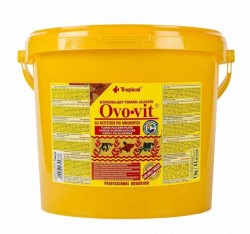 Tropical - Tropical Ovo-Vit Yumurta Katkılı Balık Yemi 21 Lt/4000 Gr.