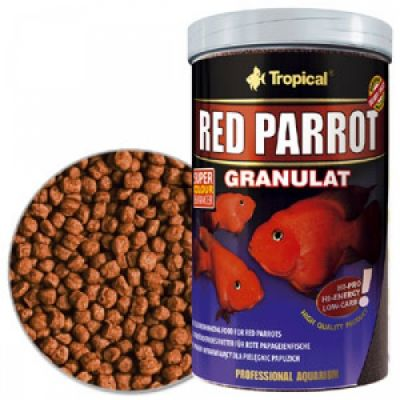 Tropical Red Parrot Granulat 1000 Ml / 400 Gr.