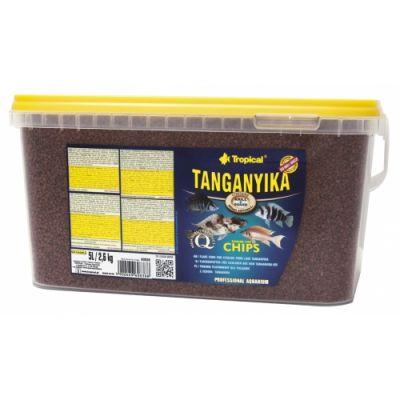 Tropical Tanganyika Chips 5 Lt/ 2600 Gr.
