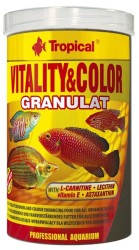 Tropical - Tropical Vitality Color Granulat Yem 100 Gram