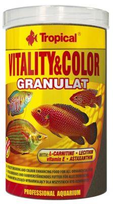 Tropical Vitality Color Granulat Yem 100 Gram