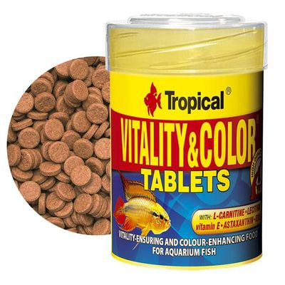 Tropical Vitality Color Tablets Yem 100 Adet