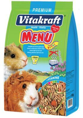 Vitakraft Menü Vital Premium Ginepig Yemi 1000 Gr.