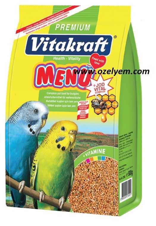 Vitakraft Premium Muhabbet Kuşu Yemi 500 Gr. Muhabbet Yemleri Vitakraft